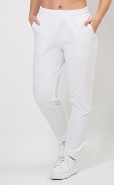 Trousers FORMAT 12078 belyj