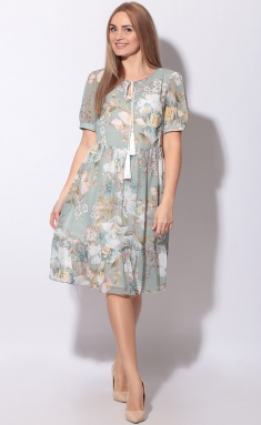 Dress LeNata 12116 cv na mentolovom