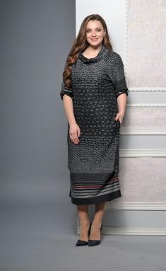 Dress Lady Style Classic 1233-1 temn