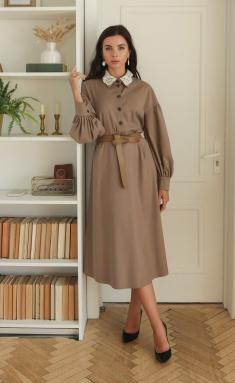 Dress Ladis Line 1377 kofe