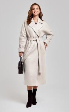 Coat SandyNA 130604 sero-zhemchuzhnyj