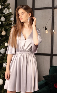 Dress Ladis Line 1309 metalik