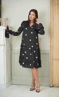 Dress Ladis Line 1319 chern