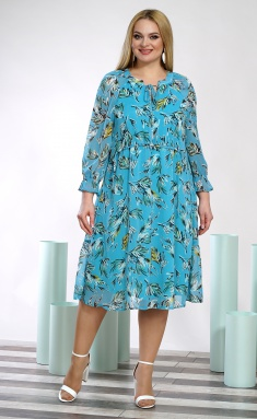 Dress ALANI 1352 goluboe