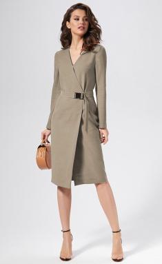 Dress AYZE 1357 kapuchino