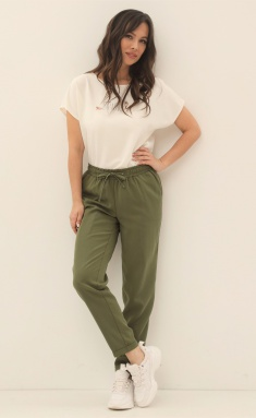 Trousers Magia Mody 1358 zel