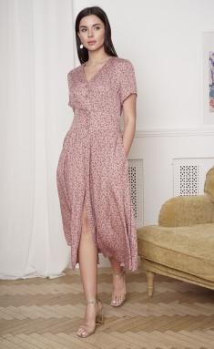Dress Ladis Line 1364 pudr