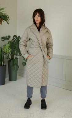 Coat Ladis Line 1374 sv.seryj