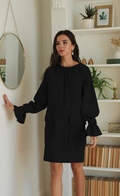 Dress Ladis Line 1379 chernyj