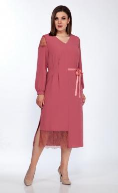 Dress LaKona 1386 dymchataya roza