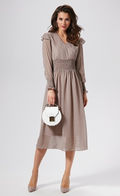 Dress AYZE 1396 kapuchino