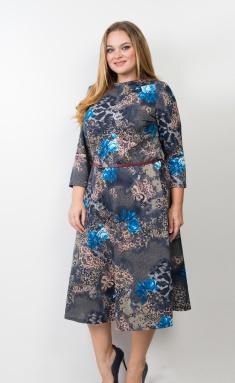 Dress Trikotex-Style M 14-19 vasilek