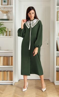 Dress Ladis Line 1404 izumr