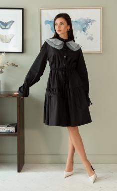 Dress Ladis Line 1405 chern