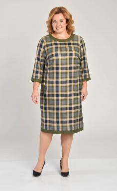 Dress Lady Style Classic 1427 sin+ zel+ bezh kl