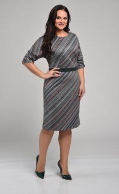Dress Lady Style Classic Outlet 1467-1 zel/diag