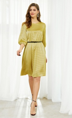 Dress AYZE 1490 zheltyj