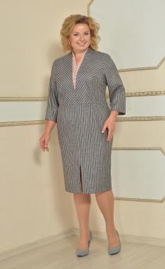 Dress Lady Style Classic 1720 ser/roz