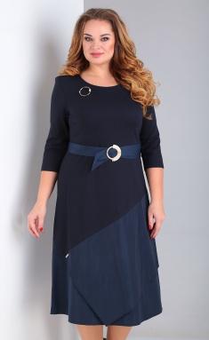 Dress Ollsy 01533 sinij