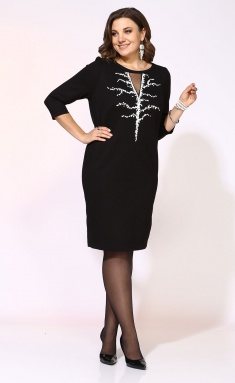 Dress Ollsy 01542 chernoe