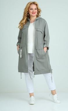 Raincoat Ollsy 01543 sero-zelenyj