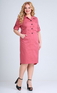 Dress Ollsy 01551 bordo