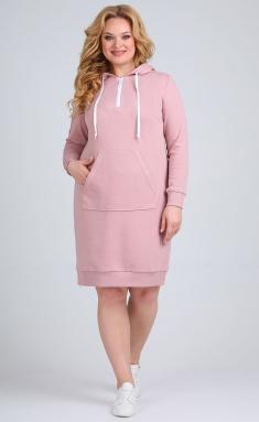 Dress Ollsy 01556 rozov