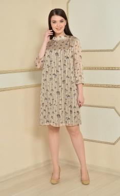 Dress Lady Style Classic 1594 bezh