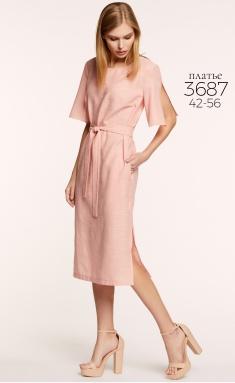 Dress BAZALINI 3687 pudr