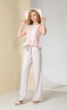 Trousers Golden Valley 16230 krem