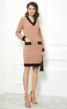 Dress AYZE 1626 kapuchino