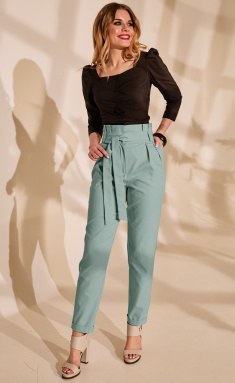 Trousers Golden Valley 16454-1 sv.zel