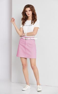 Skirt EOLA 1667-roz roz