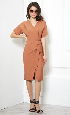 Dress AYZE 1687 karamel
