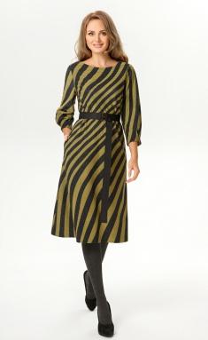 Dress Magia Mody 1709 oliva