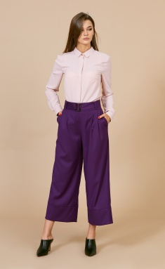 Trousers EOLA 1709 fiol