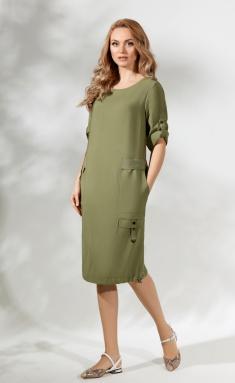Dress Magia Mody 1716 oliv
