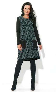 Dress AYZE 1737 chernyj/myata