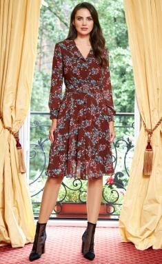 Dress Sale 1753 korichnevyj