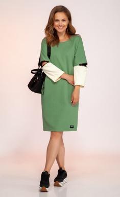 Dress Dilana Vip 1757/1 oliv