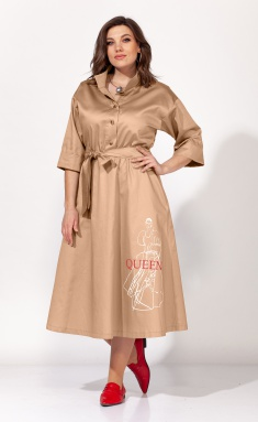 Dress Elletto 1818 bezh