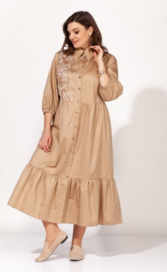 Dress Elletto 1819 bezh