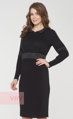 Dress Newvay 182-2356 chern/pajetki chern