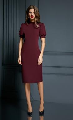 Dress AYZE 1833 marsala