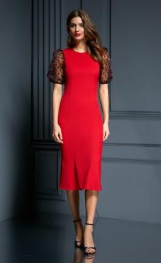 Dress AYZE 1837 krasnyj