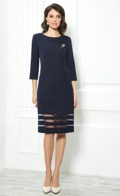Dress AYZE 1841 sinij