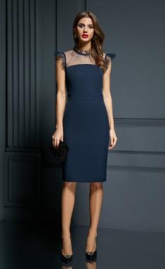 Dress AYZE 1851 sinij