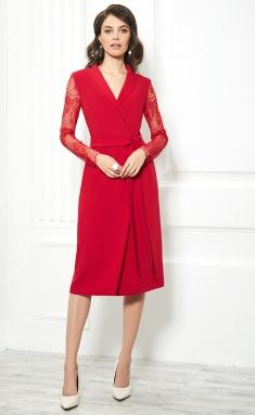 Dress AYZE 1854 krasnyj