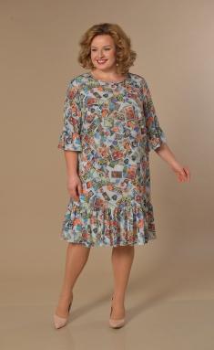 Dress Lady Style Classic 1866 multikolor