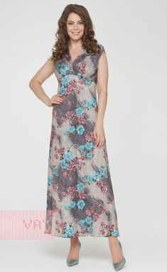 Dress Newvay 191-3509 armeriya biryuzovyj